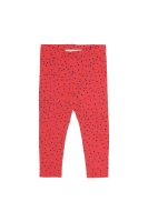 Baby Leggings Mini dots, Red