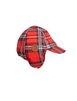 Alaska Check Cap Red