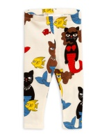 Cat mermaid leggings Offwhite
