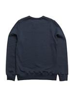 Sweatshirt Bat, Marinblå