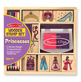 Stämpelset Prinsess