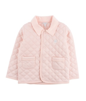 quilted jacket pink