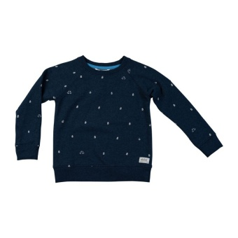 Radford sweater, Boats on blue