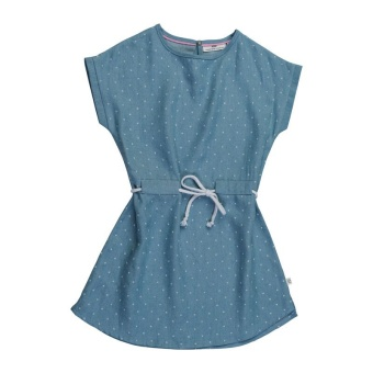 Ferie dress, Dotted Light blue