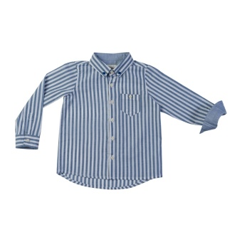Folland shirt, Navy stripes