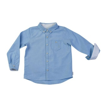 Frazer oxford shirt, Light blue oxford