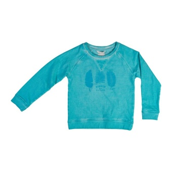 Beyond sweater, Tropical turquoise