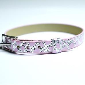 Namnarmband Armband - Dalmatin rosa
