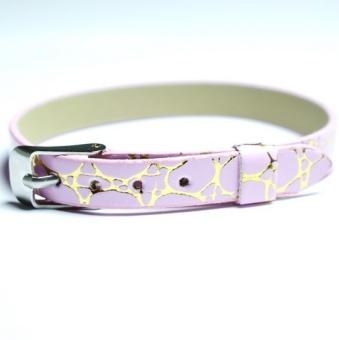 Namnarmband Armband - Orm rosa