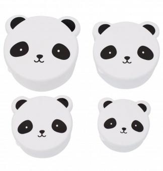 Matlådor panda 4 pack