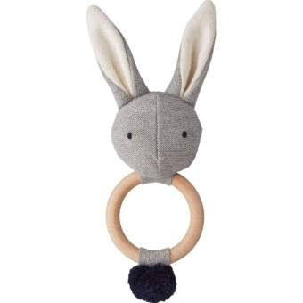 Skallra Aria, kanin grey melange