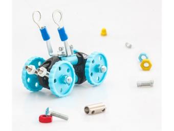 Bygg en robot 'Blå bil'