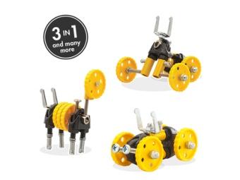 Bygg en robot 'Gul bil'