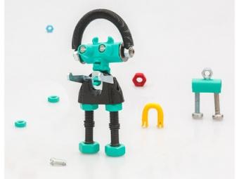 Bygg en robot 'BabaBit'