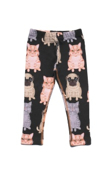 Leggings Fat Cats + Pug AOP