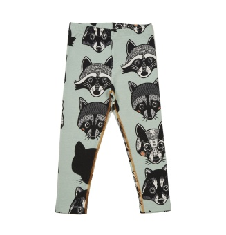 Leggings Raccoons & Badger
