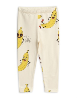 Banana aop leggings / Offwhite