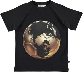 Raines T-Shirt Football world map