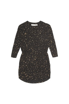 Dress Gold Flakes, Black