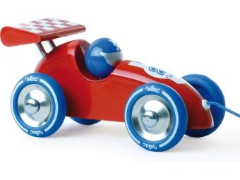 Dragbil 'Racer' röd/lila