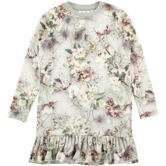 Caras Dress LS X-Ray Bloom
