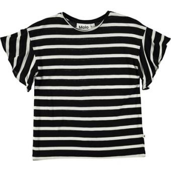 Rakin T-Shirt Black'n White Stripe