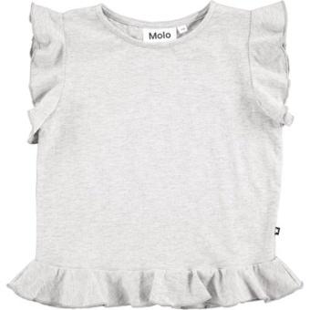 Rabia T-shirt Light Grey Melange