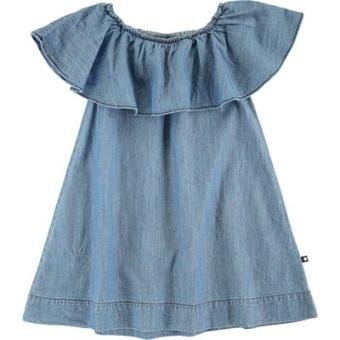 Cherisa Dress Washed indigo