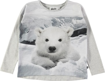 Renate T-Shirts LS Polar Bear