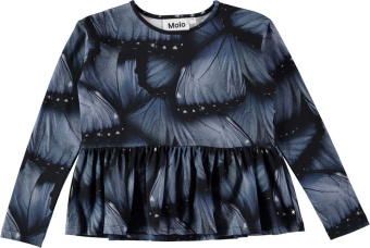 Risa T-Shirt LS Velvet Wings Jersey