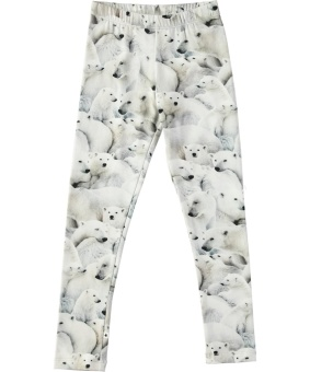 Niki Leggings Polar Bear Jersey