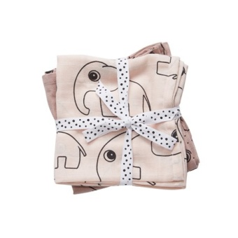 Swaddle  Contour, powder 2 pack