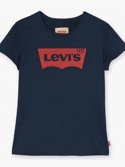 T-shirt Bat blå/tjejmodell