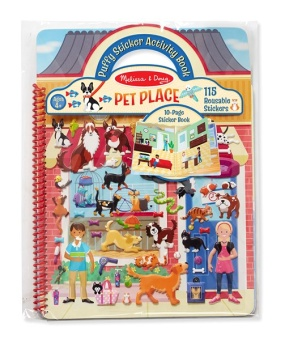 PUFFY STICKER ACTIVITY BOOK - PETS