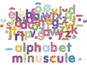 Magneter Små bokstäver