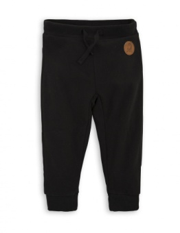 FLEECE TROUSERS black