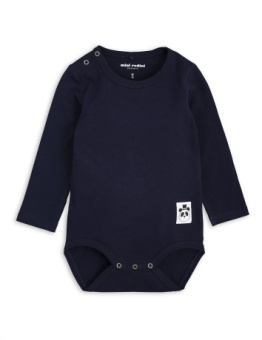 BASIC LS BODY/ navy