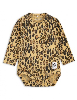 BASIC LEOPARD LS BODY / beige