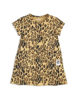 BASIC LEOPARD DRESS / beige