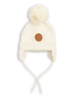 PENGUIN BABY HAT offwhite