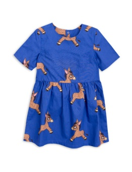 Donkey woven dress Blue