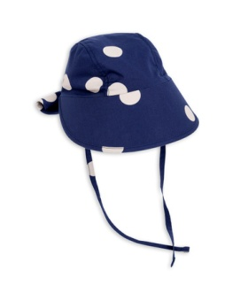Dot sun cap Navy