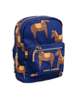 Horse backpack Navy