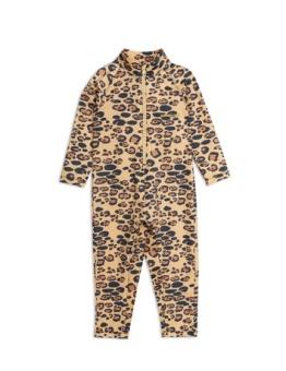 Leopard uv ll suit Beige