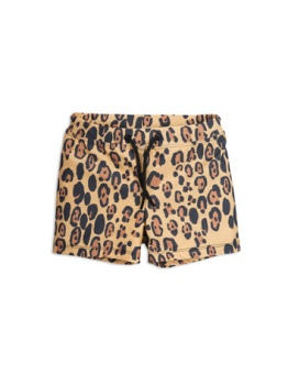 Leopard swimpants Beige