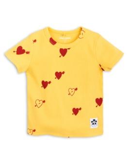 Heart Rib SS Tee Yellow