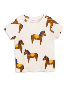 Horse ss tee Yellow