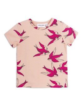 Swallows ss tee Pink