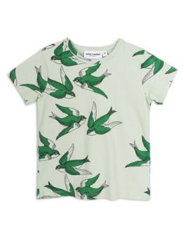 Swallows ss tee Green