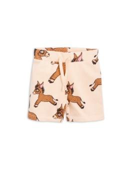 Donkey aop sweatshorts Beige
